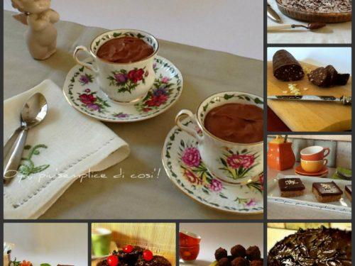 Dolci con cioccolato e Nutella, raccolta ricette