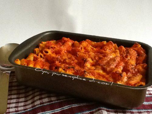 Pasta al forno con ricotta, ricetta saporita