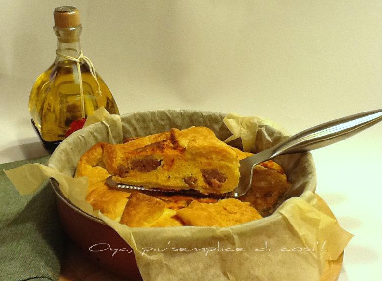 Rustico zucca e salsiccia, ricetta gustosa | Oya