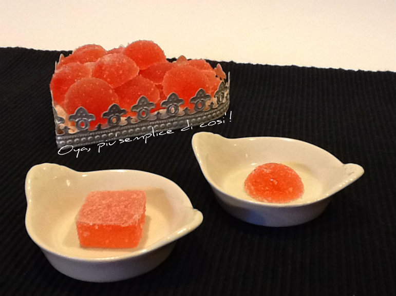 Caramelle gommose alla frutta, ricetta semplice | Oya