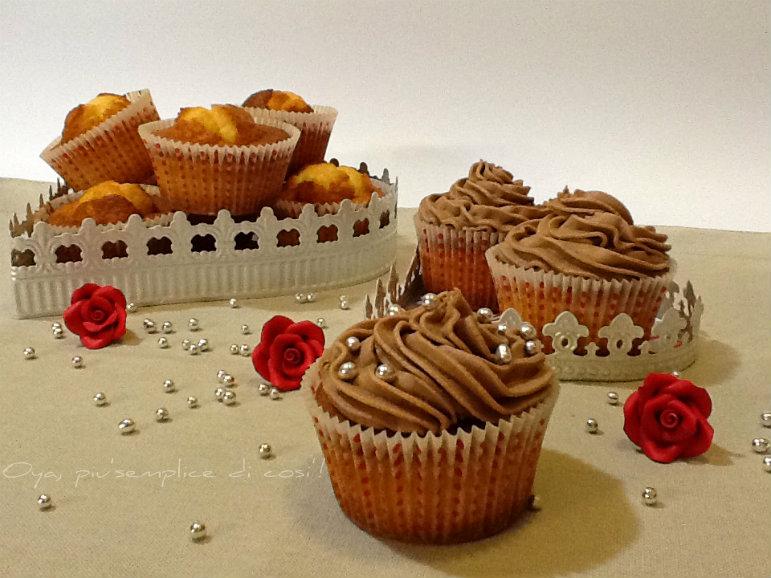 Frosting alla nutella per cupcakes, ricetta | Oya