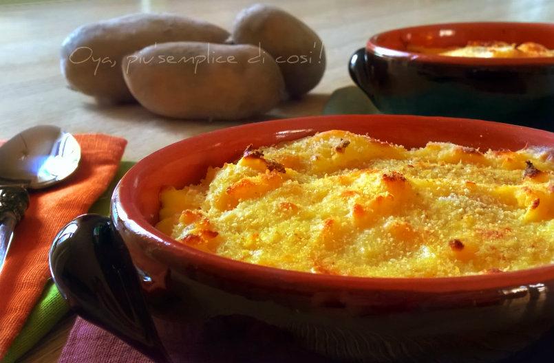 Gateau di patate, ricetta gustosa | Oya