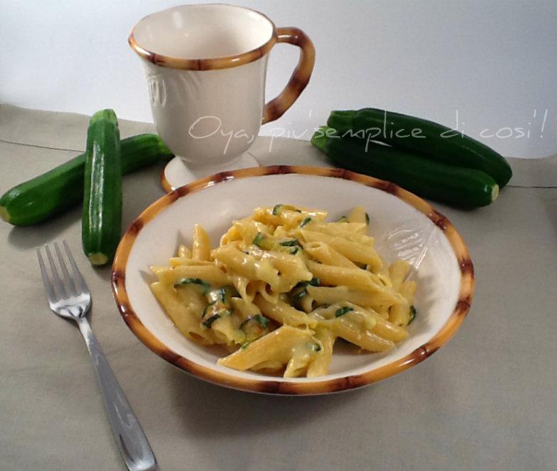 Pennette zucchine e fontina, ricetta saporita | Oya