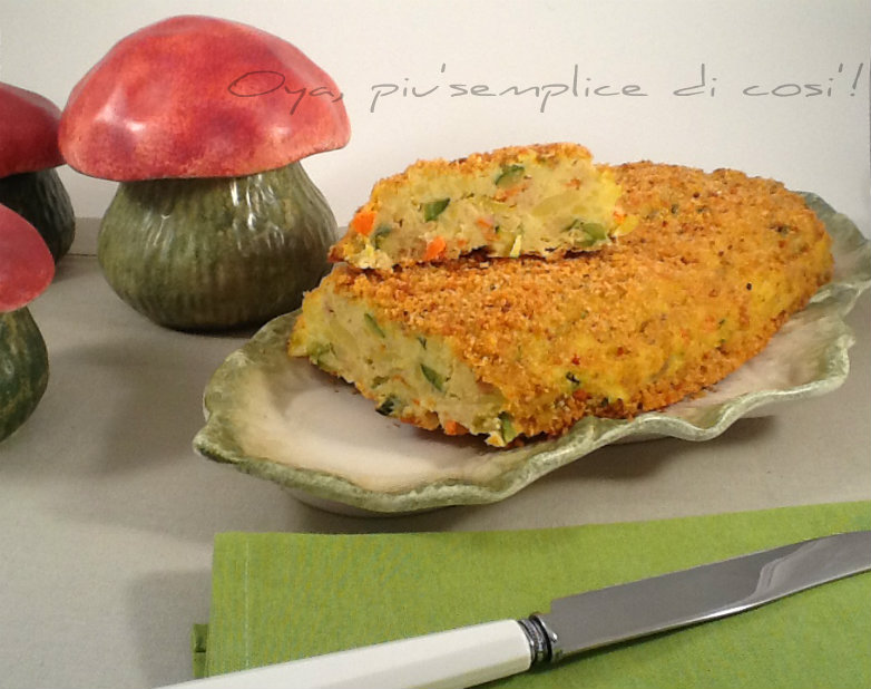 Polpettone di verdure, ricetta saporita | Oya