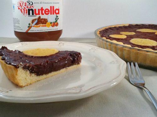Crostata alla Nutella, ricetta dolce