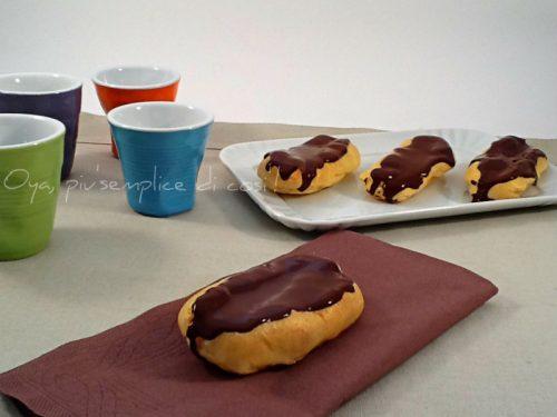 Eclair al cioccolato, ricetta base dolce