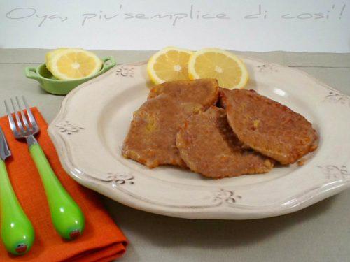 Scaloppine al limone, ricetta raffinata