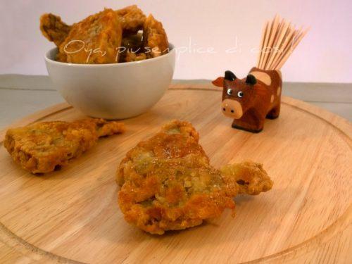 Carciofi dorati e fritti, ricetta contorno