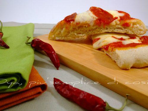 Pizza diavola, ricetta piccante e aromatica