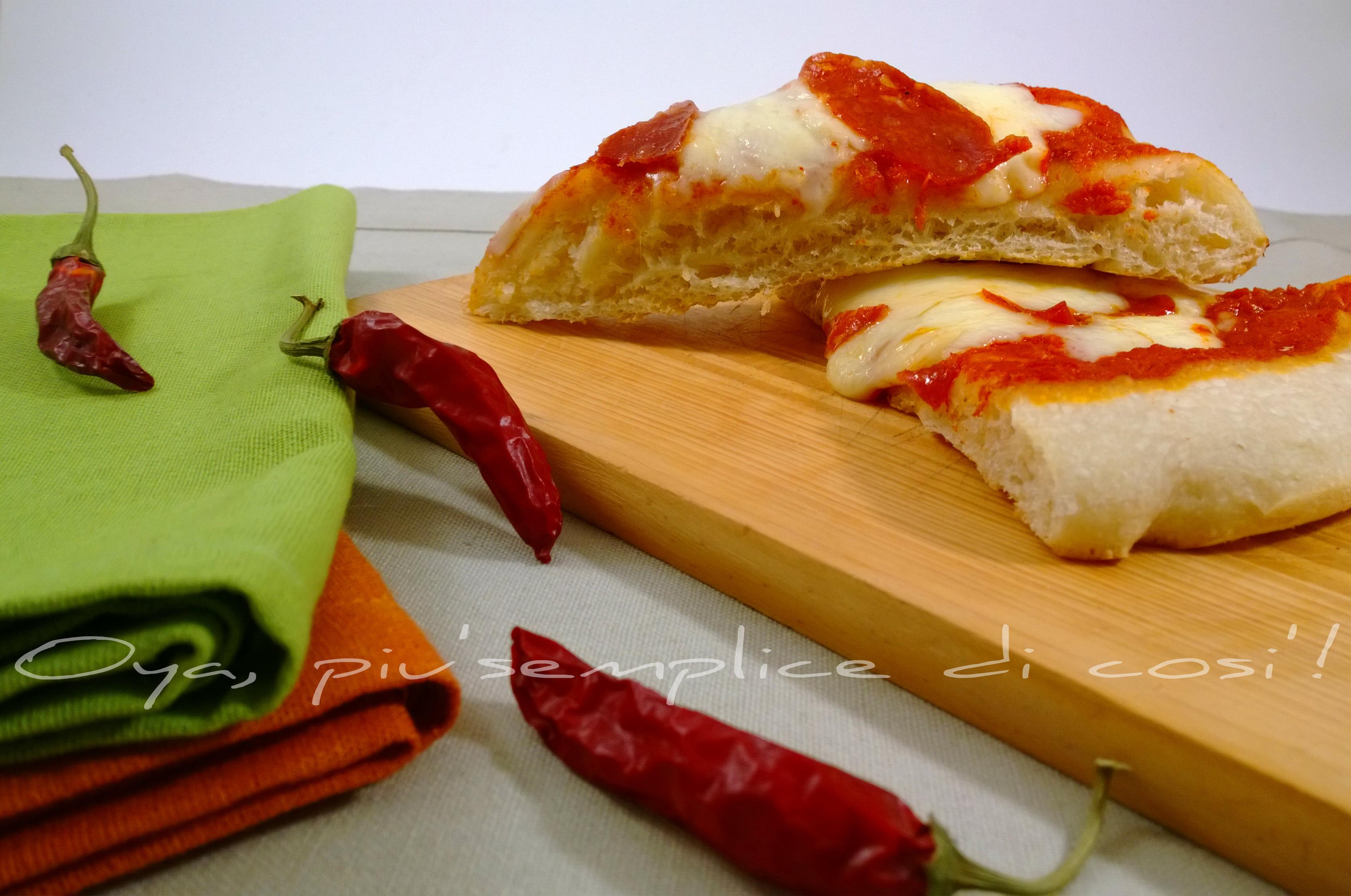 Pizza diavola, ricetta piccante   Oya