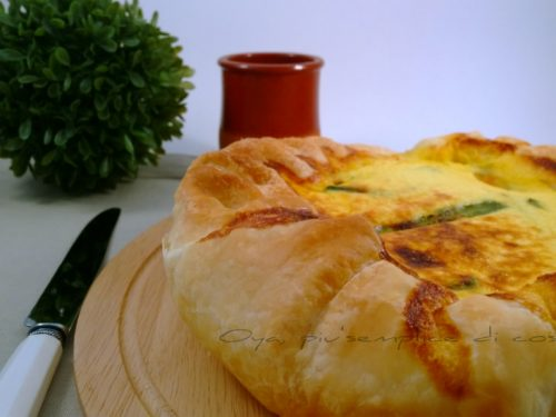 Quiche di asparagi, ricetta raffinata