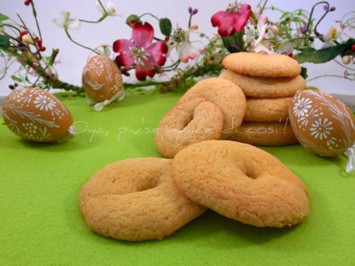 Taralli dolci pasquali, ricetta golosa napoletana