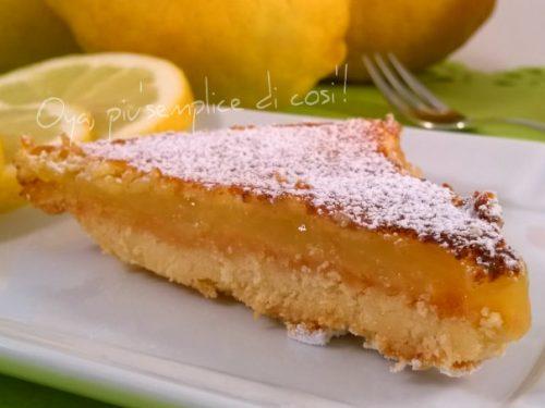 Triangoli al limone, ricetta dolce