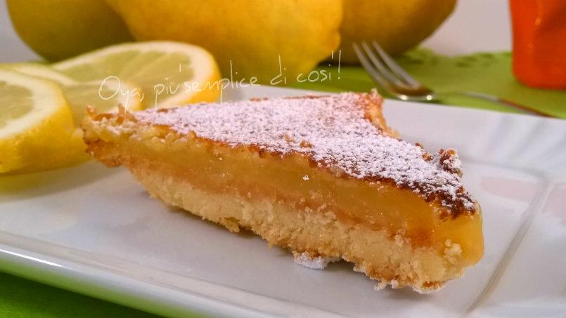 Triangoli al limone, ricetta dolce | Oya