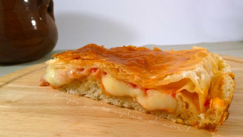 Pizza Parigina, ricetta rustica semplice   Oya