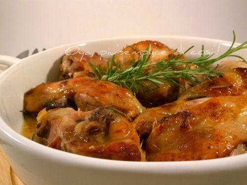 Pollo al forno al limone, ricetta gustosa