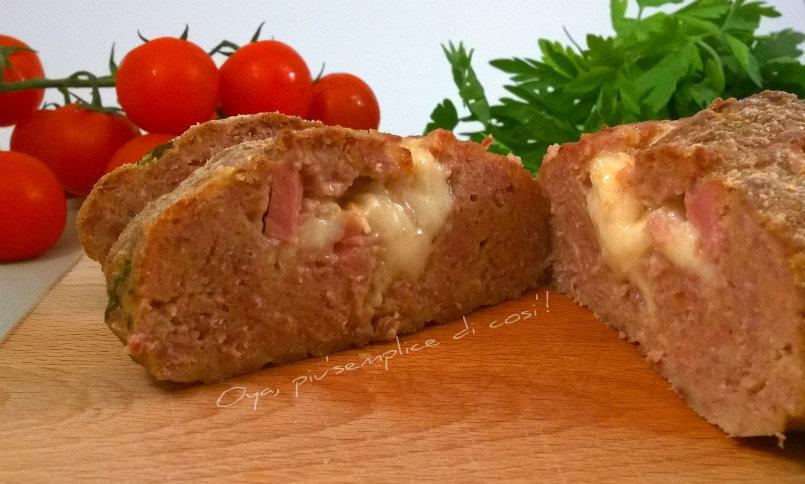 Polpettone di carne al forno, ricetta | Oya