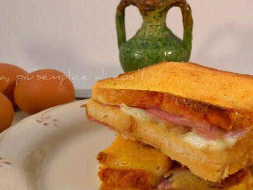 Sandwich al forno, ricetta gustosa