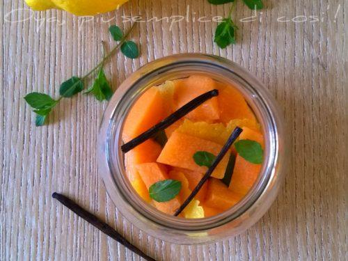 Melone al limone e menta, ricetta semplice