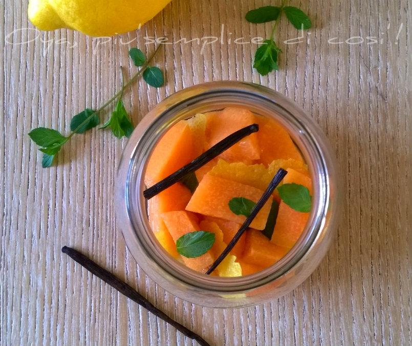Melone al limone e menta, ricetta semplice | Oya