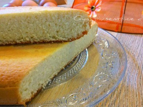 Pan di Spagna, ricetta base semplice