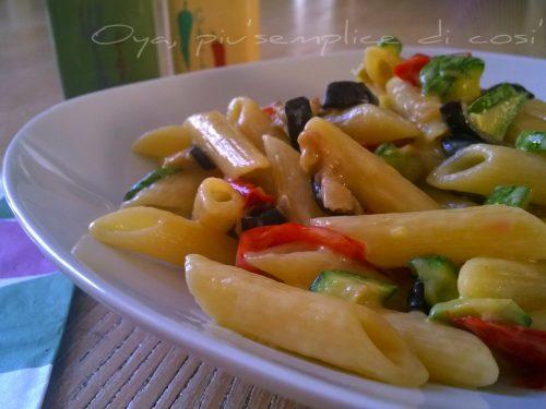 Pasta alle verdure, ricetta semplice e saporita