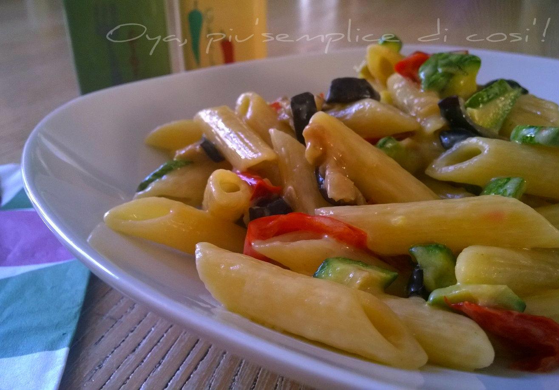 Pasta alle verdure, ricetta semplice | Oya