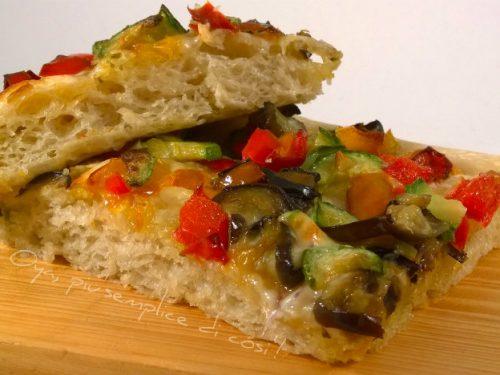 Pizza alle verdure, ricetta saporita