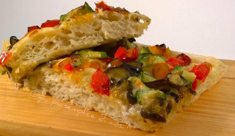 Pizza alle verdure, ricetta | Oya