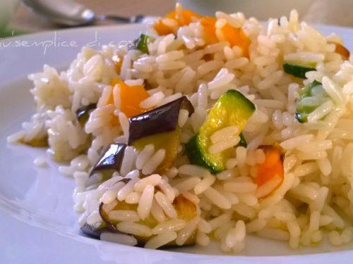 Riso alle verdure, ricetta gustosa