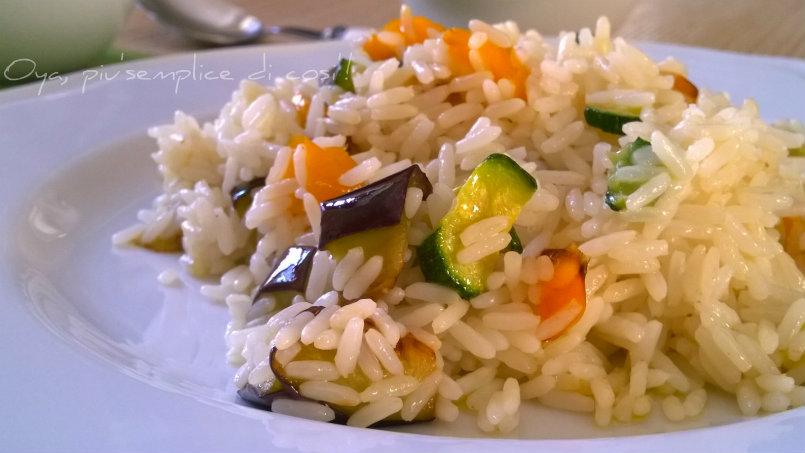 Riso alle verdure, ricetta gustosa | Oya