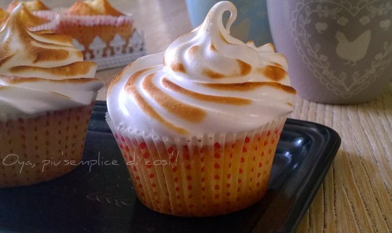 Cupcakes meringate, ricetta dolce | Oya