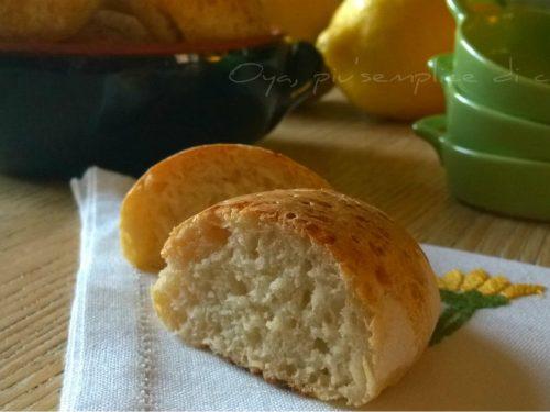 Panini al limone, ricetta semplice