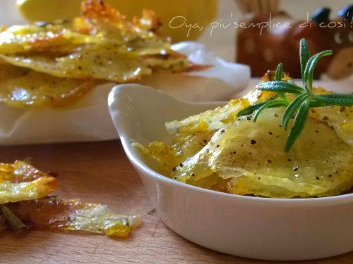Patatine croccanti al limone, ricetta