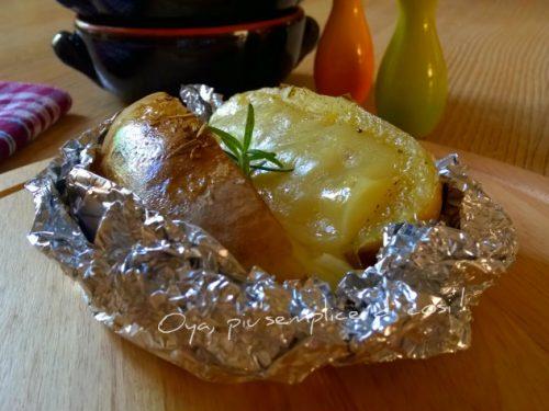 Patate al cartoccio con formaggio, ricetta