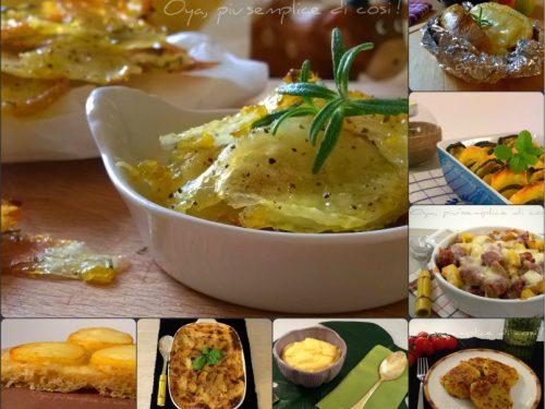 Ricette con le patate, raccolta ricette