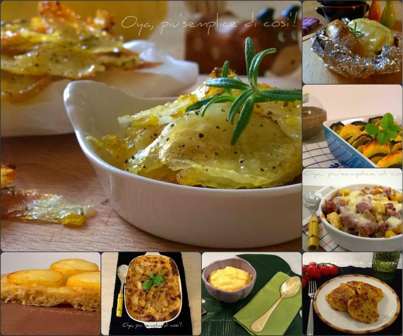 Ricette con le patate, raccolta ricette | Oya