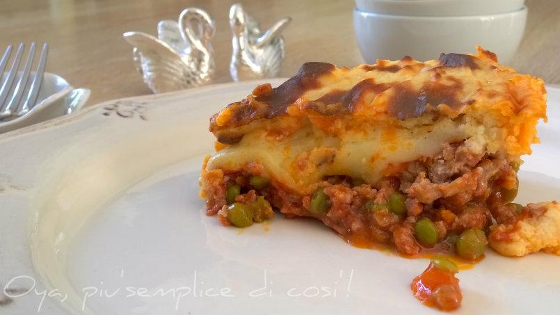 Pasticcio di carne in crosta di patate, ricetta | Oya