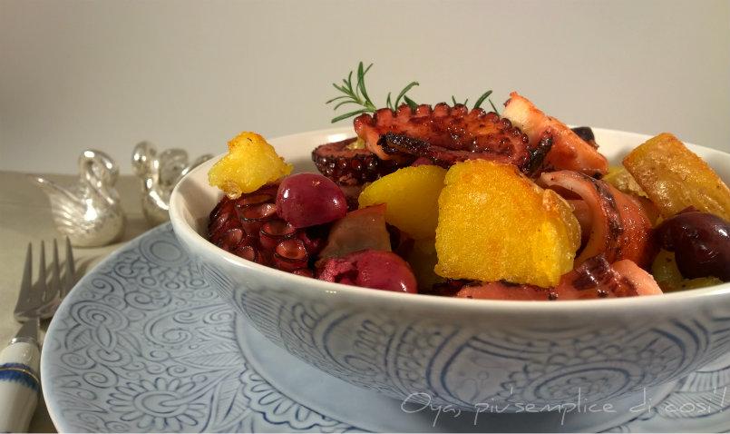 Polpo e patate in padella, ricetta saporita   Oya