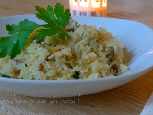 Risotto vongole e zucchine, ricetta semplice