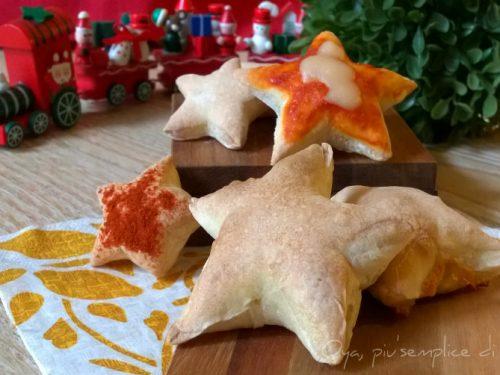Stelline di pizza, ricetta finger food natalizia