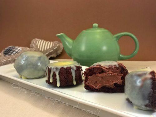 Dolcetti al cacao ripieni di Nutella, ricetta golosa