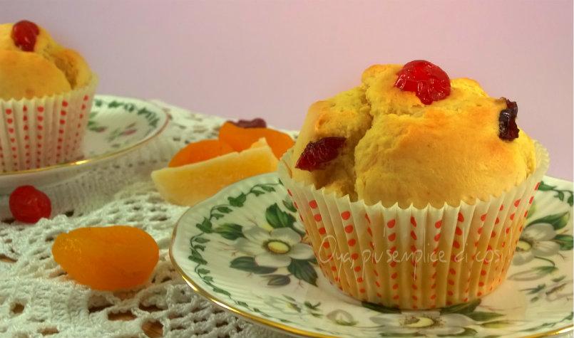 Muffin con frutta disidratata, ricetta   Oya