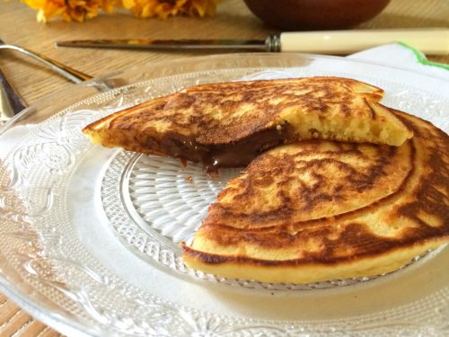 Pancake ripieni alla Nutella, ricetta semplice e golosa