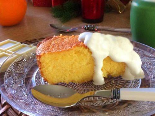 Torta arancia e cioccolato bianco, ricetta golosa