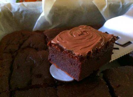 Brownies veloci alla Nutella, ricetta semplice e golosa
