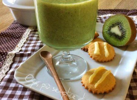 Frullato kiwi e banana, ricetta semplice e veloce