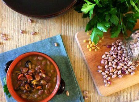 Fagioli con le cozze, ricetta ricca e gustosa della tradizione