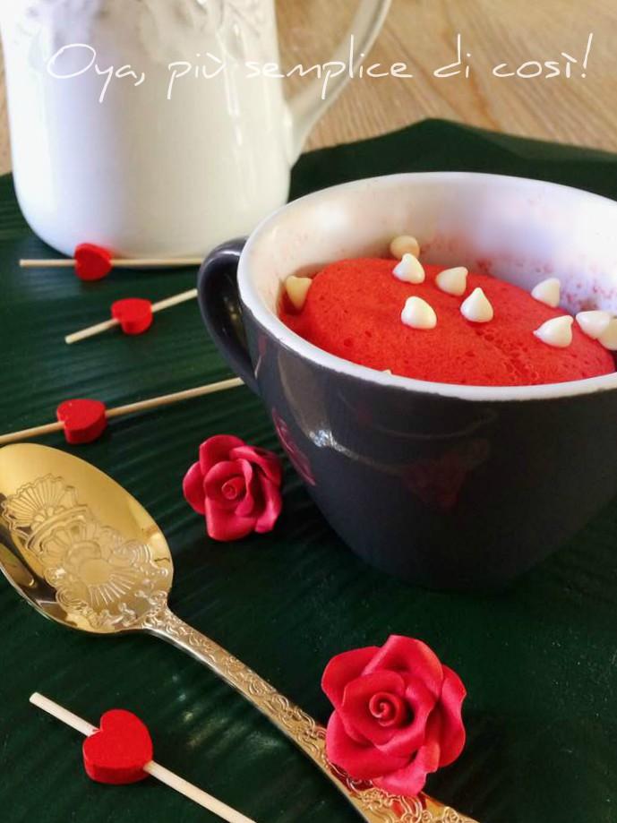 Mug cake alla vaniglia, ricetta dolce