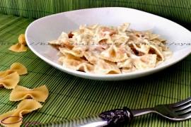 Farfalle al salmone, ricetta raffinata semplice
